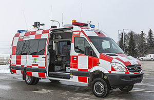 Command vehicles according to ICAO